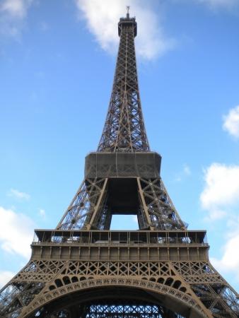 Foto per Torre Eiffel in un pomeriggio d'inverno - Immagine Royalty Free