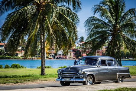 HDR american car in Varadero Cuba