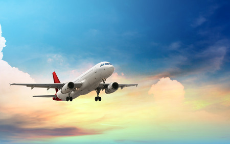 Photo for airplane taking off - Royalty Free Image