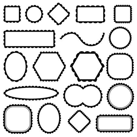 blank frames set
