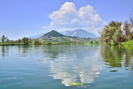 Foto per Lake of Posta Fibreno, Frosinone - Immagine Royalty Free