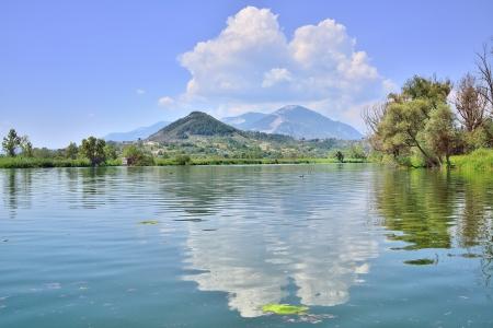 Foto de Lake of Posta Fibreno, Frosinone - Imagen libre de derechos