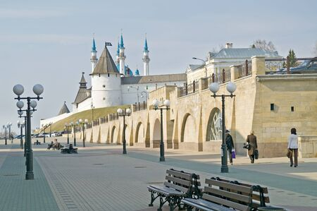 Kazan, the urban view