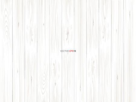 Illustration pour White wood pattern and texture for background. Vector illustration. - image libre de droit