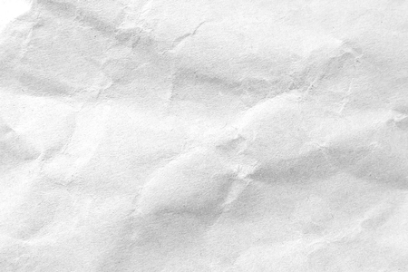 Photo for White crumpled paper texture background. Close-up image. - Royalty Free Image