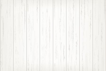 Ilustración de White wood plank texture for background. Vector illustration. - Imagen libre de derechos
