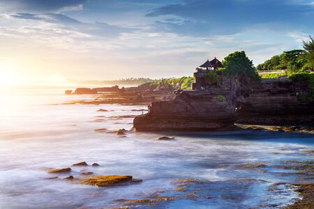 Photo for Tanah Lot Temple in Bali Island, Indonesia. - Royalty Free Image