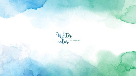 Illustration pour Abstract surface watercolor grunge background. Stain artistic vector used as being an element in the decorative design of header, brochure, poster, card, cover or banner. - image libre de droit