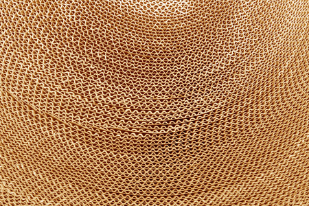 Corrugated cardboard abstract background