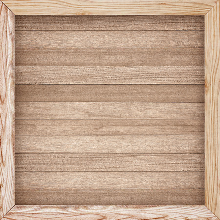 Photo for Wooden wall texture, wood frame background - Royalty Free Image