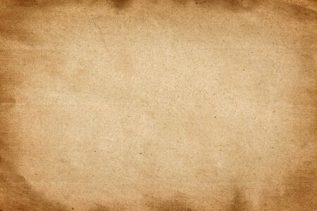 Foto per Old brown paper texture abstract background - Immagine Royalty Free