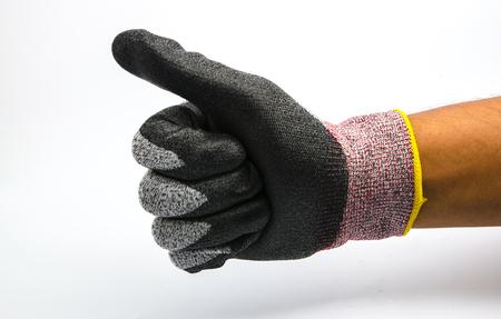 Foto de glove. Isolated on a white background - Imagen libre de derechos
