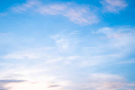 Photo pour beautiful white clouds  and sunlight on the blue sky perfect for the background, take in morning - image libre de droit