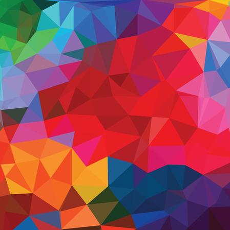 Photo pour Abstract triangle background - image libre de droit