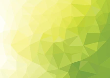 Photo pour Green Polygonal Mosaic Background, Creative Design - image libre de droit