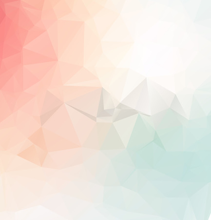 Illustration pour Abstract  colorful Triangle Geometrical Illustration Modern Design mosaic - image libre de droit