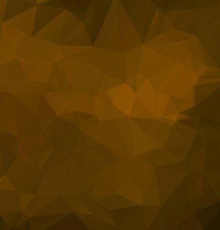 Illustration pour Vector Abstract geometric darkness black shape polygonal style - image libre de droit