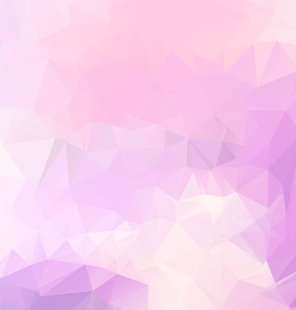 Illustration pour Light purple vector polygon abstract backdrop. Polygonal with gradient. Texture pattern for your backgrounds - image libre de droit
