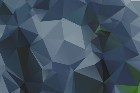 Illustration pour Dark low poly template Glitter abstract illustration with an elegant design esign - image libre de droit