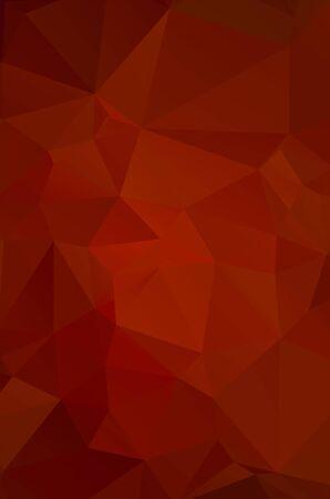 Illustration pour Abstract red geometric background for design - image libre de droit