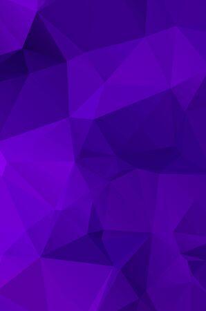 Illustration pour Purple vivid  vector texture with triangular style. Illustration with set of colorful  - image libre de droit