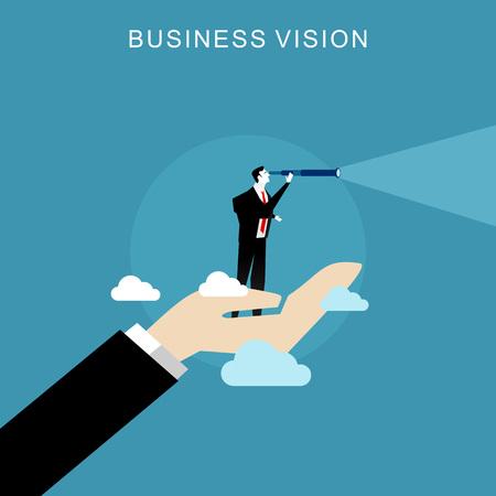 Vektor für Business vision concept. - Lizenzfreies Bild
