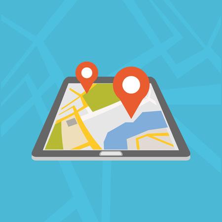 Mobile GPS navigation application.