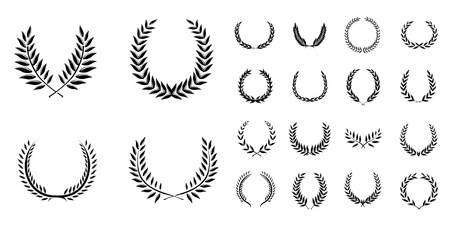 Wreath Set Vector