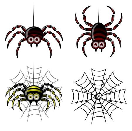 Spider set   web