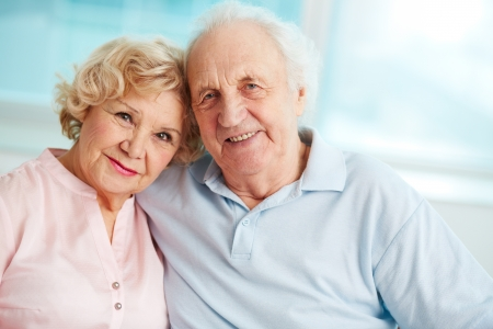 Portrait of a candid senior couple enjoying their retirement