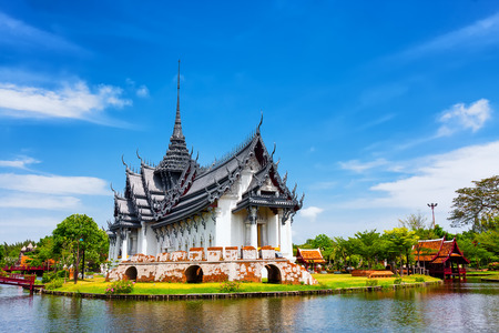 Photo for Sanphet Prasat Palace, Ancient City, Bangkok, Thailand - Royalty Free Image