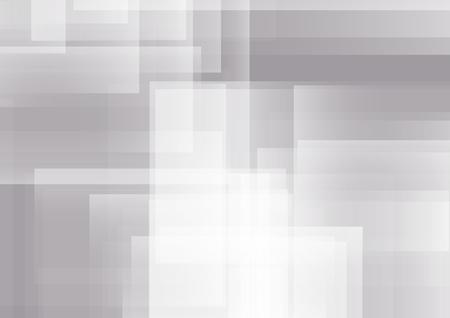 Illustration pour Abstract Gray Background, Vector Illustration - image libre de droit