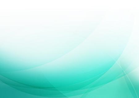 Photo pour Abstract Cyan Background for Design, Vector Illustration - image libre de droit