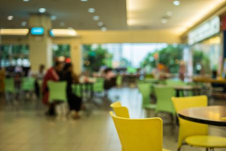 food restaurant blurry bokeh background