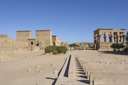 ancient Temple of Philae in Egypt (Africa)