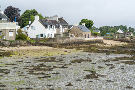 Scenery around Larmor-Baden, a commune in the Morbihan department of Brittany in north-western France.