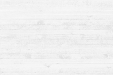 Foto de White wood texture background top view. Light wooden surface backdrop. - Imagen libre de derechos
