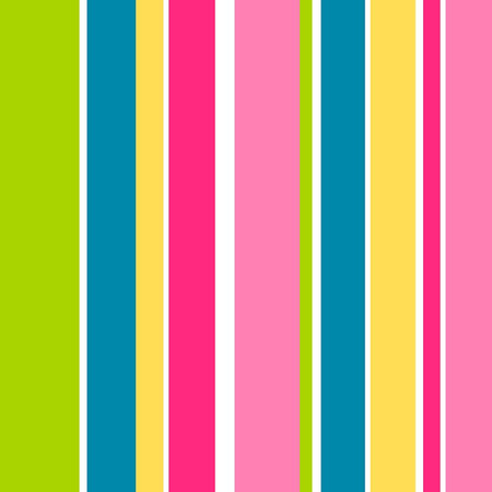 Illustration for A simple cheerful seamless stripe pattern! - Royalty Free Image
