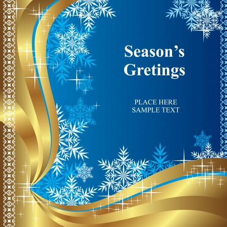 vector background of template christmas greetings
