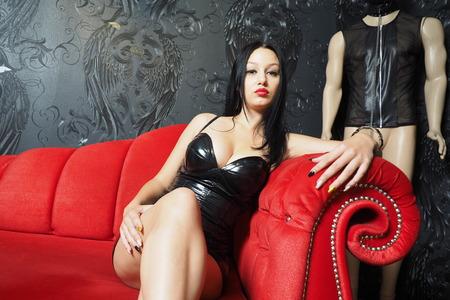 Mistress on the Sofa