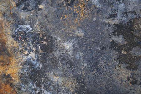 Photo pour Rusty steel sheet surface for background and design - image libre de droit