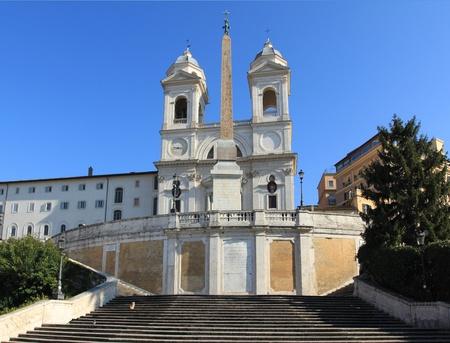 Rome - famous Trinita dei Monti, Renaissance titular church