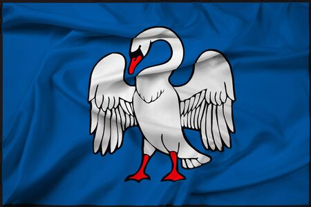 Waving Flag of Jonava, Lithuania