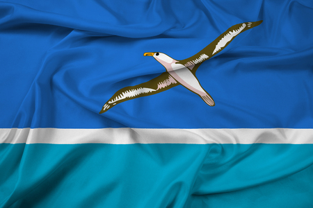 Waving Flag of Midway Atoll (unofficial)