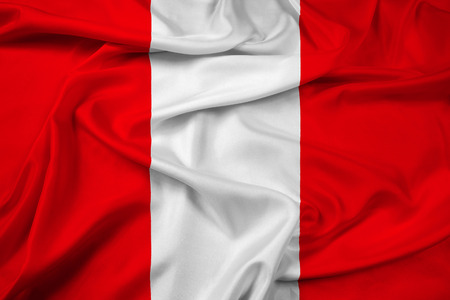 Waving Flag of Mons, Belgium