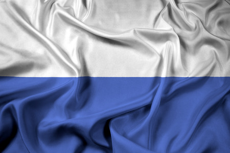 Waving Flag of Mlada Boleslav, Czechia