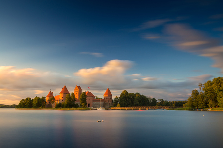 Old castle. Trakai, Lithuania.