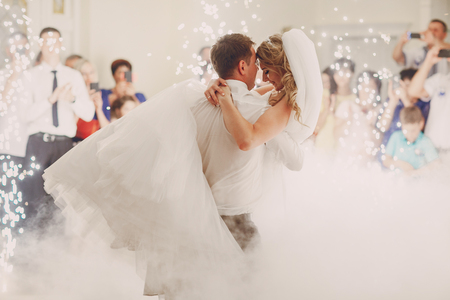 Photo pour wedding first dance - image libre de droit