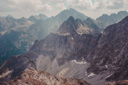Mountain landscape in Tatras