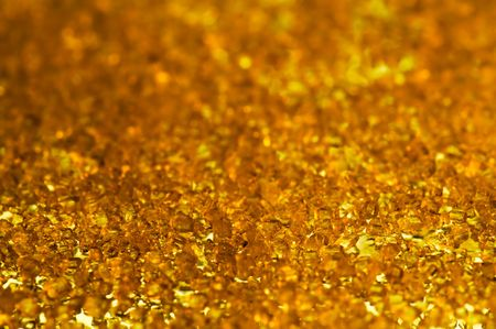 gold crystals background
